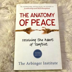 🦋4/$20 The Anatomy of Peace Book
